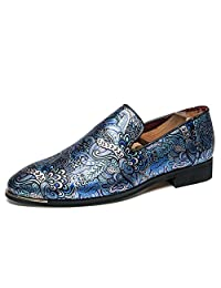 Men's Slip-On Penny Loafer Party Shoes Wedding Dress Work Formal Oxford