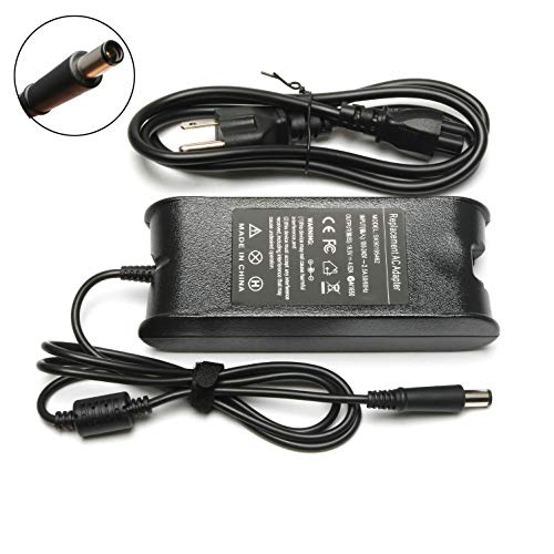 ELECBRAiN 90W PA-10 Replacement Charger AC Adapter for Dell Inspiron M5030 N5010 17 17R 17Z 1720 1750 15 15R 15Z 1564 Laptop Charger Power Supply fits PA10