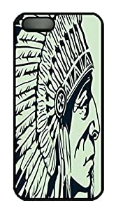 Indian - Perfect the Eagle Feather - Super Material For Iphone 5/5S Phone Case Cover Black Pc Case