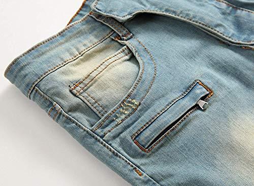 Especial Stretch Bobo Per Skinny Jeans Uomini Della Blu Tempo Strappati Il Vintage Dritta Libero Metà Vita Estilo 88 Di Nostalgia vvRnqfr