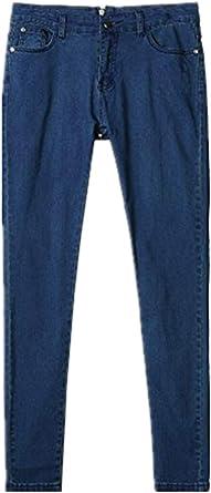 Ovinee Pantalon Con Cremallera En La Espalda Para Mujer Pantalones Vaqueros Delgados De Mezclilla De Cintura Alta Amazon Es Ropa Y Accesorios