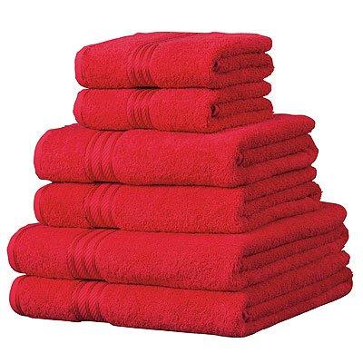 Piedra 6 toallas de hotel 100/% extraordinario algod/ón egipcio