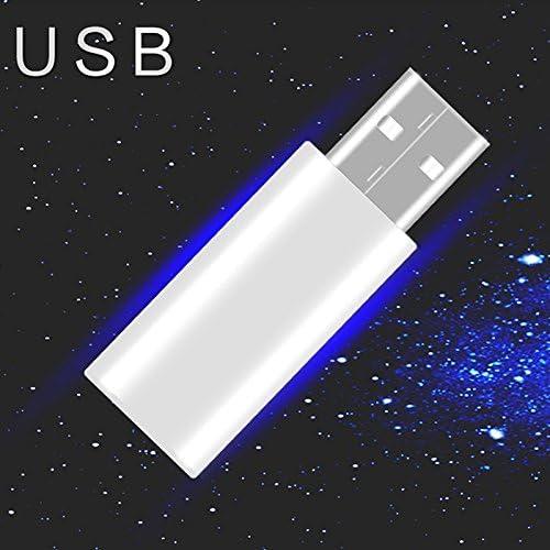Silber Angelschwimmer Elektronisch Leuchtend CR425 USB Wiederaufladbar
