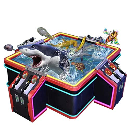 1.5 x 1.5 m Coin-Operated Double Fishing Machine Puzzle Game Machine Art and Electronic Play Playground