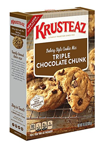 Oatmeal Chocolate Chunk (Krusteaz Bakery Style Cookie Mix, Triple Chocolate Chunk, 15.5 Ounce (Pack of 12))