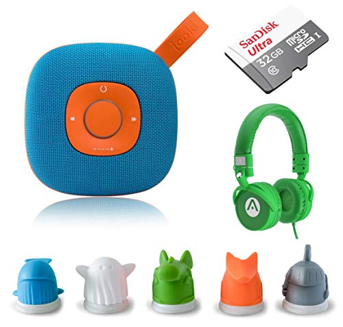Speaker - Simply The Best Music Player for Kids Screen-Free Music & Stories with ToyTouch Technology, A7 Headphones and 32GB microSD Card ()