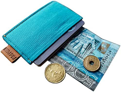 Minimalistic Wallet - Slim Card Holder - for Men & Woman - 4 Colors by FASTONI