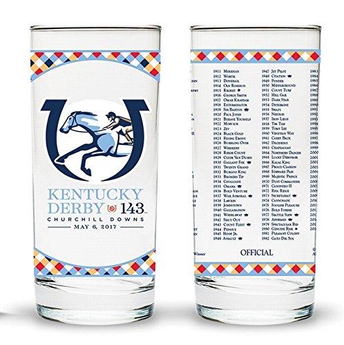 143rd Kentucky Derby Julep Glass Set of 4