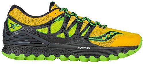 Sneaker Saucony Xodus ISO gelb/Lime