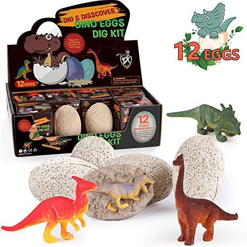 Children Archaeological Dinosaur Fossil Exploration Dinosaur Egg Educational Toy