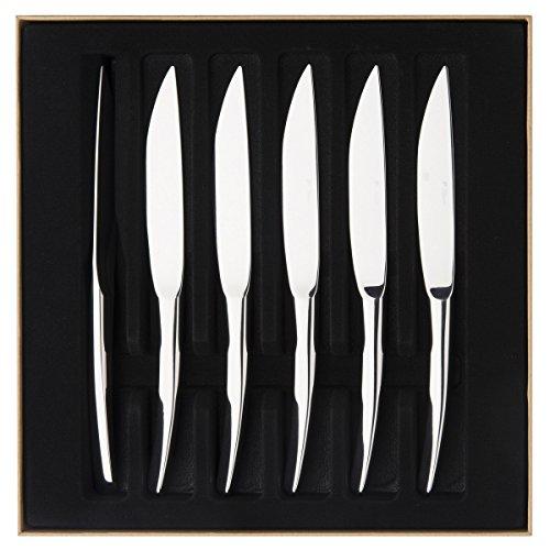Degrenne 206296 XY Mirror Finish Dinner Knife, Silver by DEGRENNE