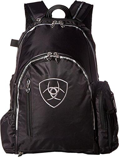 Ariat Unisex Ring Backpack Black/Gray Backpack