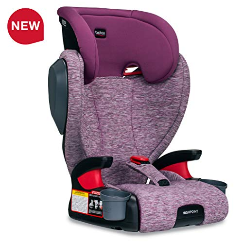 Why Should You Buy Britax USA Highpoint 2-Stage Belt-Positioning Booster Car Seat - Highback and Bac...