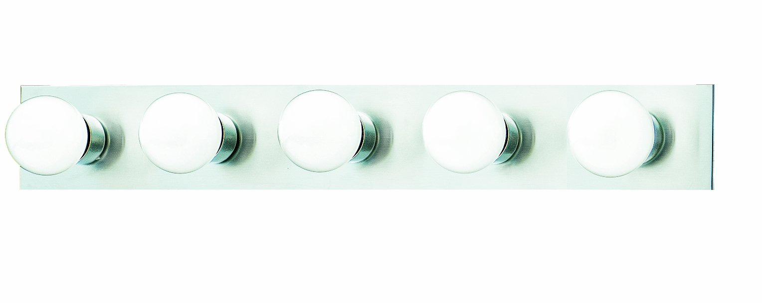 Philips Lighting Sl7415-78 Five-Light Bath Fixture, Brushed Nickel by Thomas Lighting