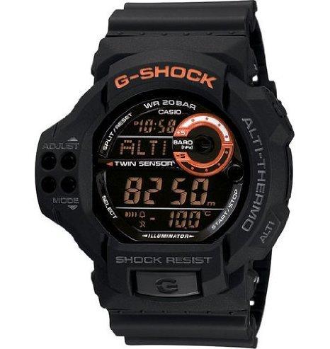 G-Shock (Gショック) Altimeter Barometer 20 Bar Black Dial watch #GDF100-1B メンズ 男性用 腕時計 ウォッチ(並行輸入) B00J6UZB5O