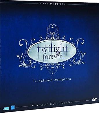 Pack Saga Crepúsculo Colección Vintage Funda Vinilo Blu-Ray Blu ...