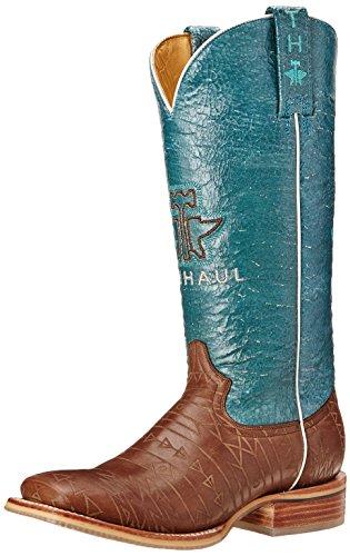 Chaussures De Transport En Étain Womens Aztek Western Boot Brown / Turquoise