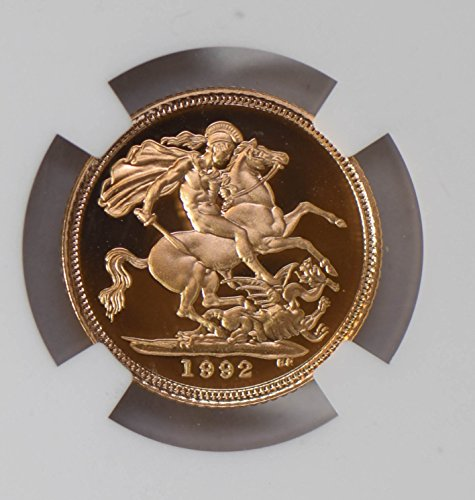1992 IE NG0706 Great Britain 1/2 Sovreign NGC PF70 Ultra cameo line right to forehead on slab not coin gold DE PO-01 NGC (Line Cameo)