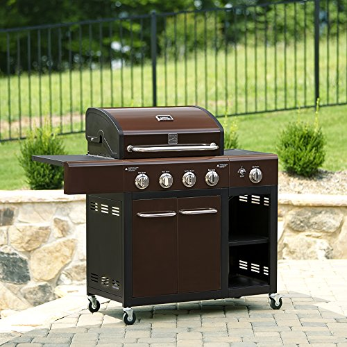 Kenmore 4 Burner Gas Grill with Stainless Steel Lid (Kenmore Barbecue Gas compare prices)