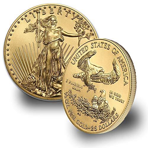 - 2019 1/2oz American Gold Eagle $25 Brilliant Uncirculated