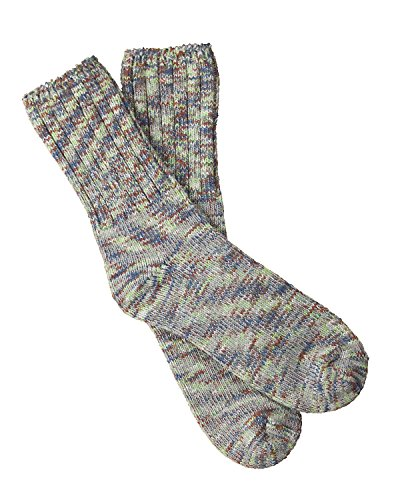 Worlds Softest Weekend Collection Ragg Crew Socks Peaceful Spacedye