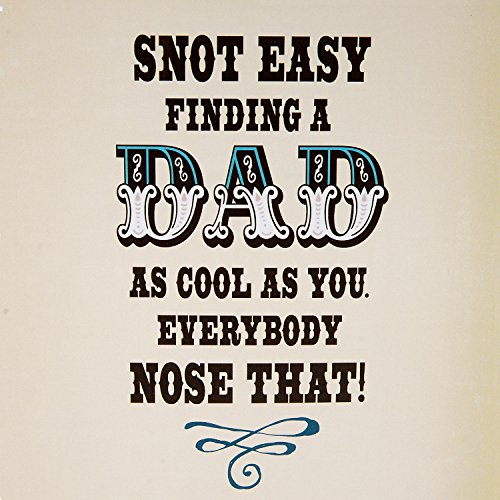 Hallmark Funny Father's Day Greeting Card (Snot Monkey Humor) Photo #3
