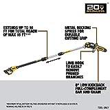 DEWALT 20V MAX XR Pole Saw, 15-Foot Reach, Tool