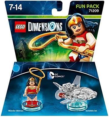LEGO Dimensions Wonder Woman Fun Pack 41pieza(s) Juego de construcción - Juegos de construcción (7 año(s), 41 Pieza(s), 14 año(s)): Amazon.es: Juguetes y juegos