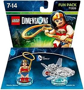 LEGO Dimensions Wonder Woman Fun Pack 41pieza(s) Juego de ...