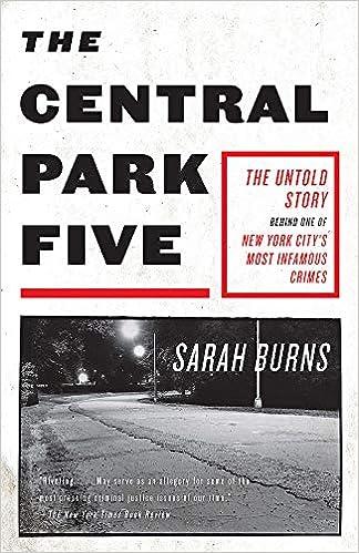 The Central Park Five 9781529358971 Burns Sarah Books
