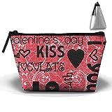 Kiss Love High-capacity Storage Bag Multi-purpose Storage Bag Portable Bag Trapezoidal Storage Bag