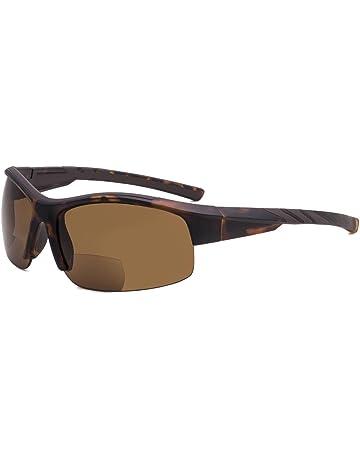 bcb7b0f18055 Eyekepper TR90 Unbreakable Sports Bifocal Half Rimless Sunglasses Baseball  Running Fishing Driving Golf Softball Hiking Matte