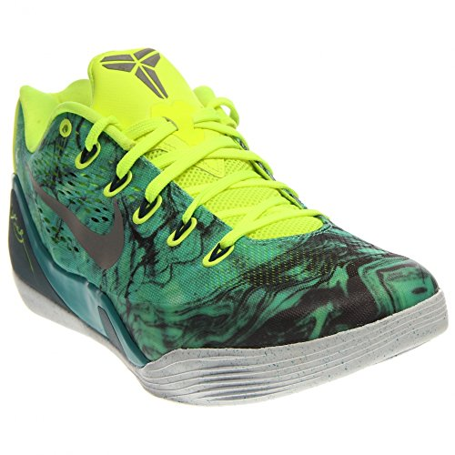 Nike KOBE IX EM Men's Shoes Turbo Green/Volt/Black/Metallic Silver 646701-300 (SIZE: 10) -  LYSB00JLR0MNI-OTHSPRTSSHOE