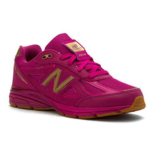 New Balance KJ990V4 Pre Running Shoe (Little Kid) Purple/Purple