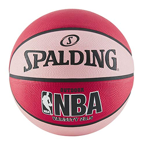 Spalding NBA Varsity Outdoor Rubber Basketball - Red/Pink - Size 6