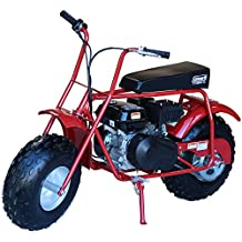 Coleman Powersports 196cc/6.5HP CT200U Gas Powered Mini Trail Bike Scooter for Adults and Kids (13+)