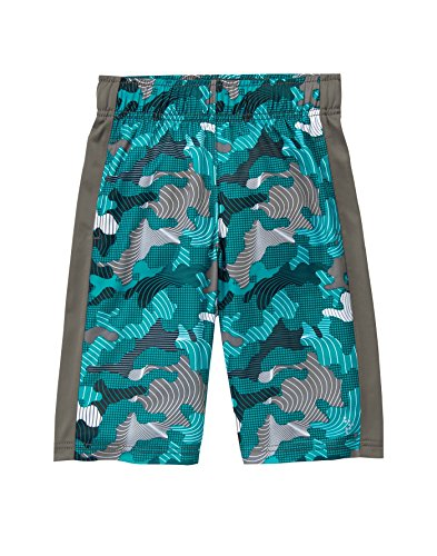 Gymboree Boys' Little Active Shorts, Blue camo, S ()