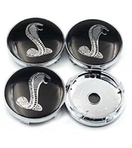 (Luck16888 Ford Mustang Cobra Snake GT Wheel Running Horse HUB Center CAPS 60MM)