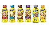 Nestle Nesquik Variety Pack, 6 Flavors, 14 oz Plastic Bottles, Pack of 12