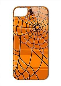Case Fun Apple iPhone 5 / 5S Case - Vogue Version - 3D Full Wrap - Halloween Spiders Web