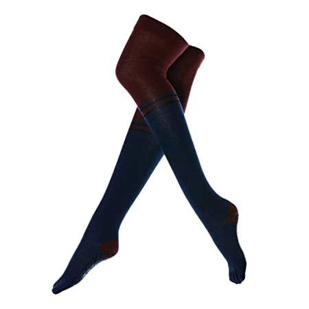 Calcetines de yoga Calcetines Largos de Yoga de Tubo ...