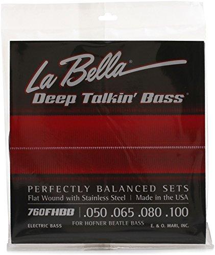 LaBella 760FHBB Labella Hofner Fltwnd 050-100 by La Bella