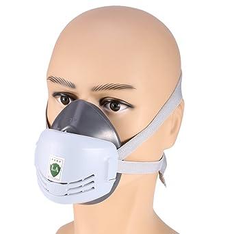 Anti-Polvo de la máscara del respirador para Soldador Soldadura Pintura Máscara Pulverización cartucho de