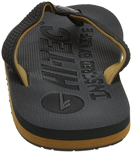Hi Tec Shadow Thong Heren Slippers Grijs / Bruin