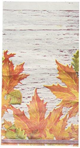 Halloween Theme Dinner (Bulk Buy: Thanksgiving Autumn Leaves Paper Guest Towels / Dinner Napkins. Pack of)