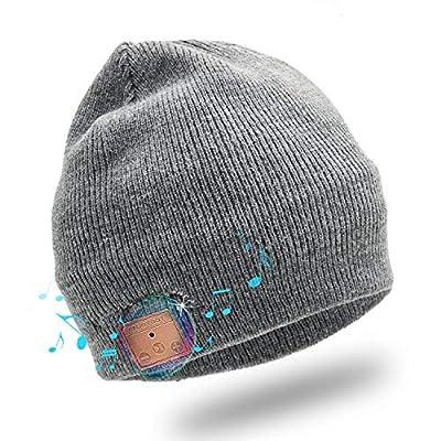 Enjoybot Bluetooth Beanie Wireless Knit Winter Hats Cap