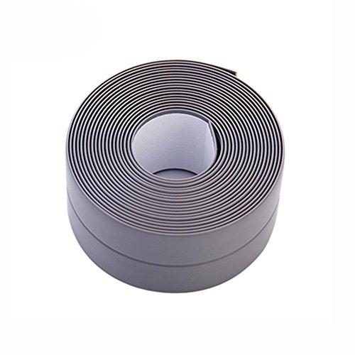 Taloyer 1pcs Household Waterproof Moldproof Wall Sealing Tape Adhesive Tape for Kitchen Sink Bathroom (#2) by Taloyer