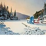 Cobble Hill Adirondack Winter, 500-Piece