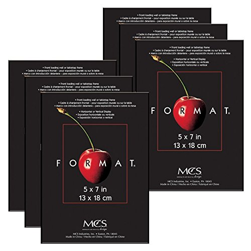 MCS Format Frame (6 Pack), 5 by 7