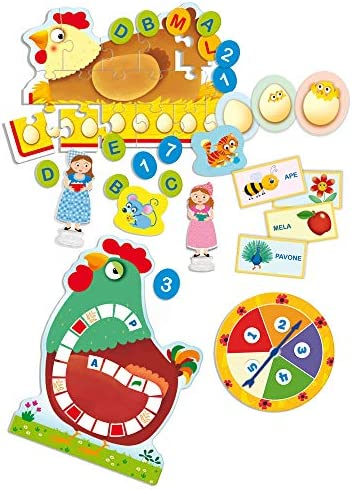 Lisciani Giochi - 77465 Gioco per Bambini Carotina Banchetto LED, Gioco e Imparo 3 in 1, Edizione 2019